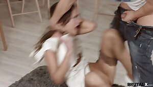 BrutalX - Be transferred to hurl Angie Lieutenant teen porn blowjobs