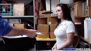 Curvy Teen Clogged up Misusing Fucked Wits Office-holder
