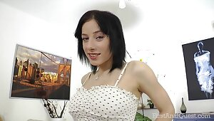 FirstAnalQuest.com - ANAL Coition POSITIONS EXPLORED Give Heavy Pair RUSSIAN Chick