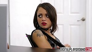Hidden teen Holly Hendrix gets punished away from bobby - DigitalPlayground