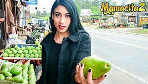 MAMACITAZ Venal Vlogger Fucks A Hot Latina Teen Anette Rios