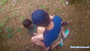 Jav Teen Henada Fucks Uncensored In Public Park, Undernourished Girl