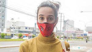 VENEZUELAN MODEL tricked into matters shoot
