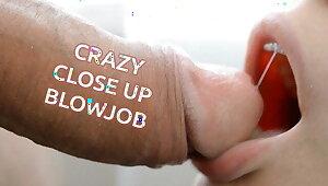 Risible CLOSE-UP BLOWJOB