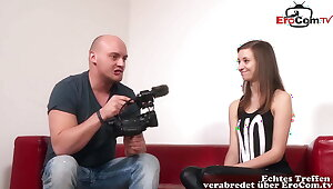 Uncompromised GERMAN TEEN VIRGIN AT CASTING – SHE Exclusively WANTS ANAL